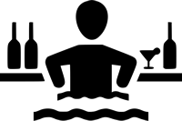 Ícone - Serviço de Bar na Piscina